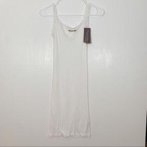 Michael Stars reversible lace slip dress